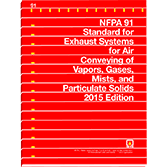 91: Exhaust Systems for Air Conveying of Vapors, Gases, Mists and  Particulate Solids