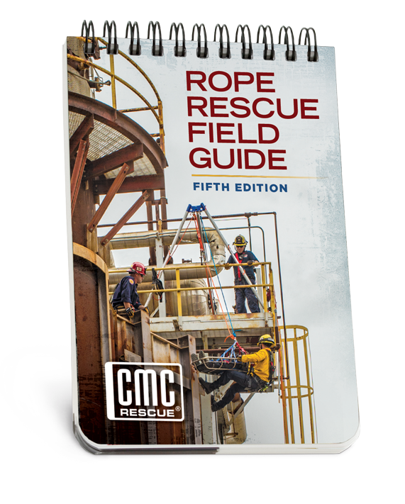 cmc rope rescue field guide 5th ed firehall bookstore rh firehallbookstore com Rope Rescue Anchor Systems CMC Rope Rescue Training