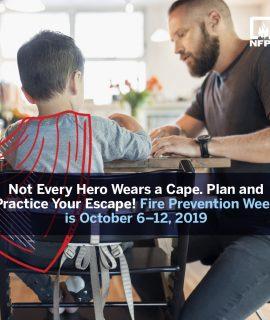 Fire Prevention Week 2019